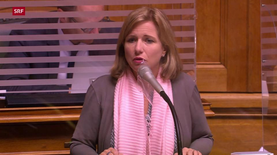 Christa Markwalder: «Keine blosse altruistische Zahlung an die EU»