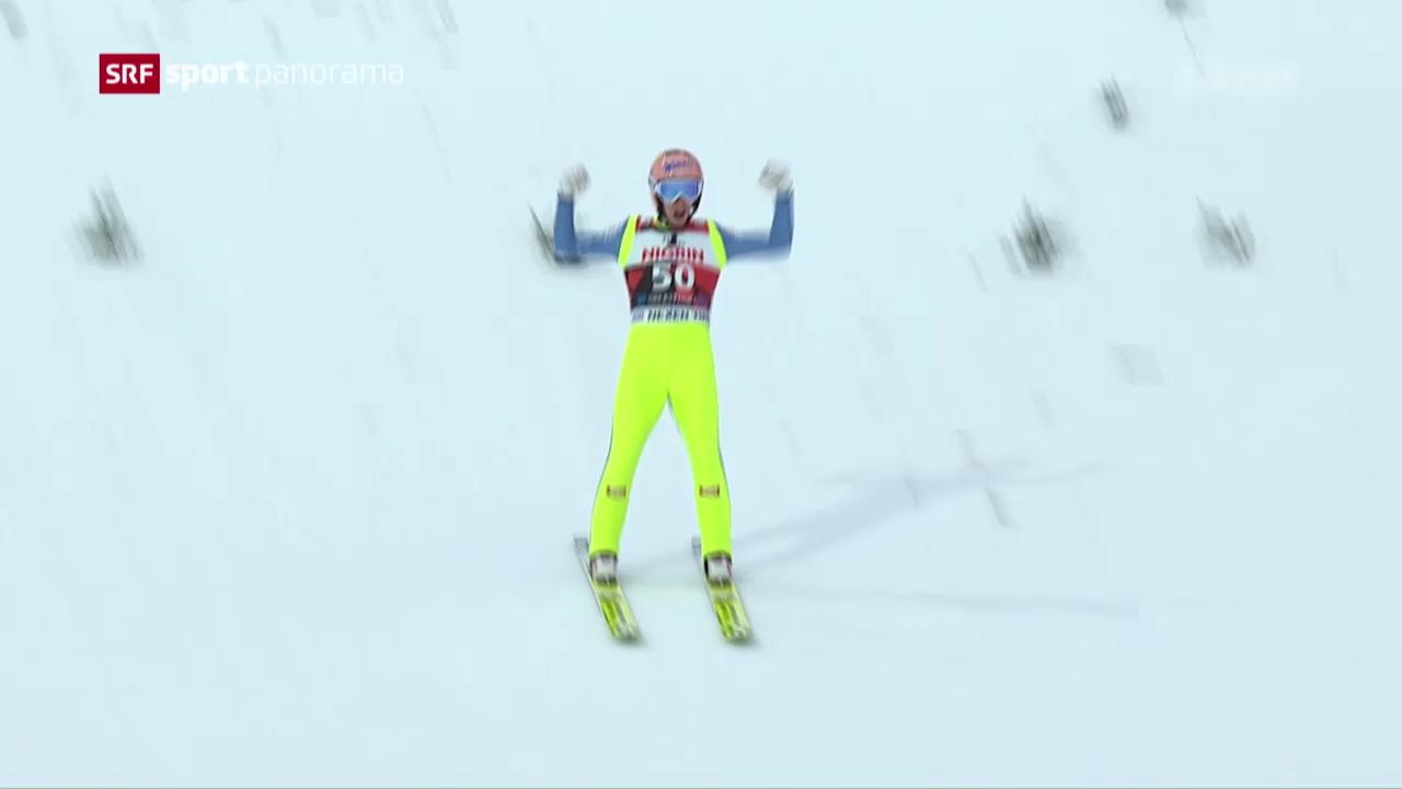Kraft doppelt in Oberstdorf nach