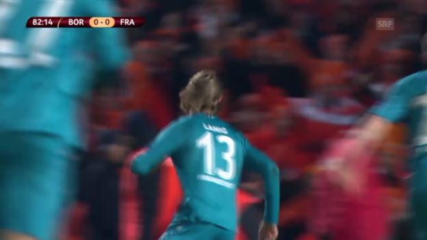 Video «Fussball: Europa League, Frankfurts Siegtreffer in Bordeaux (unkommentiert)» abspielen