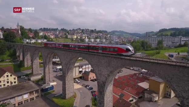 Video «Südostbahn will autonom fahrende Züge» abspielen