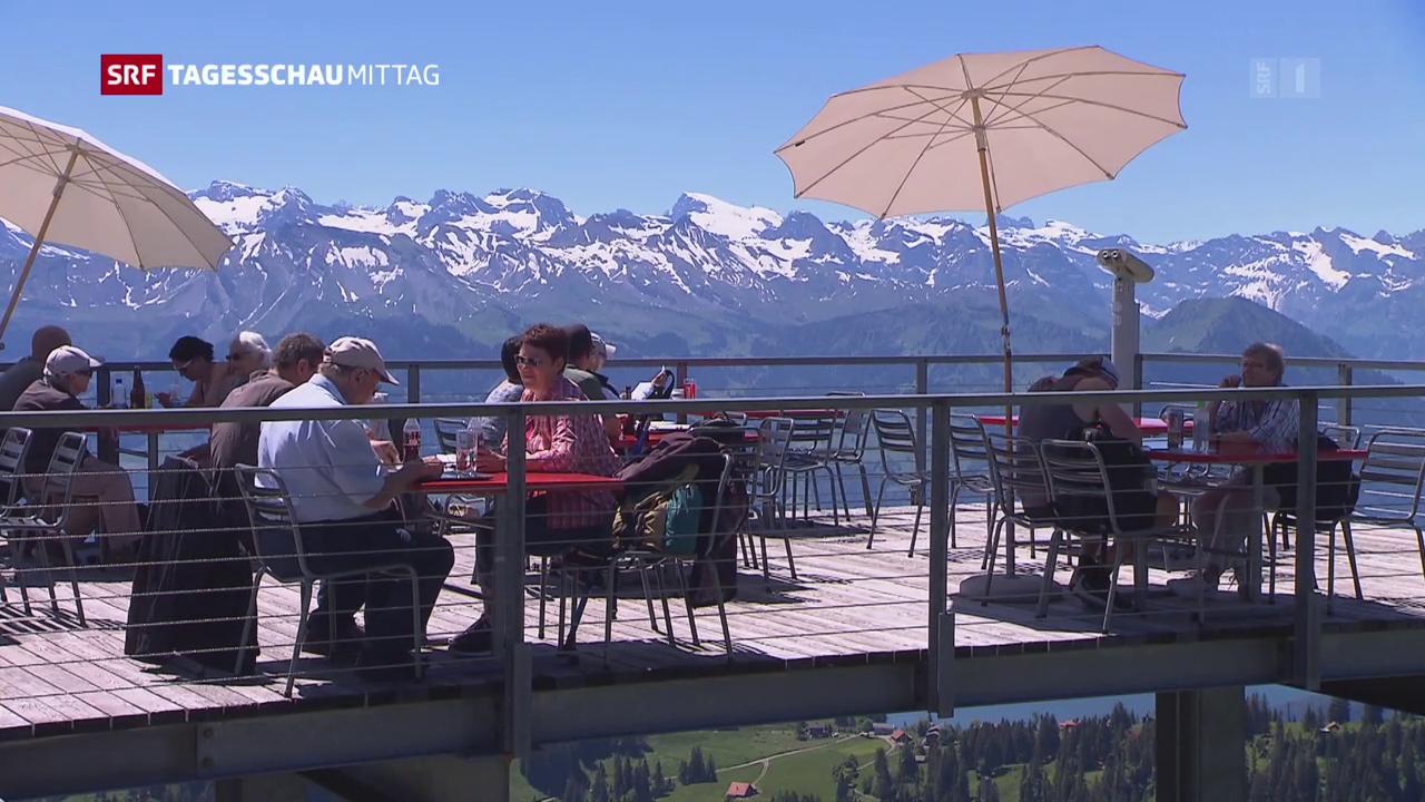 Mehr Übernachtungen in Schweizer Hotels