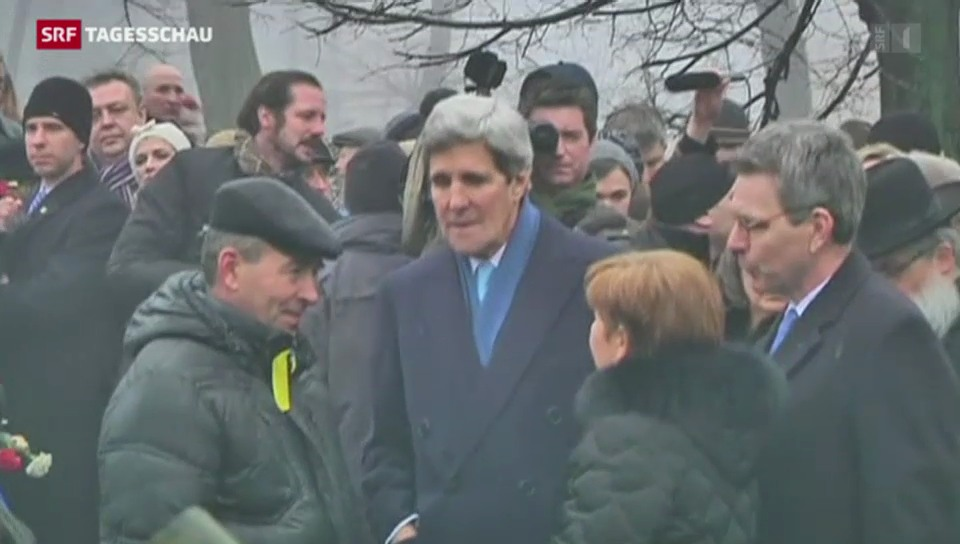 US-Aussenminister Kerry in Kiew