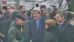 Video «US-Aussenminister Kerry in Kiew» abspielen