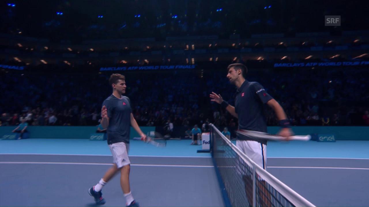 Djokovic - Thiem: Die Live-Highlights