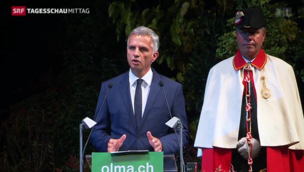 Video «Beginn der OLMA-Messen» abspielen