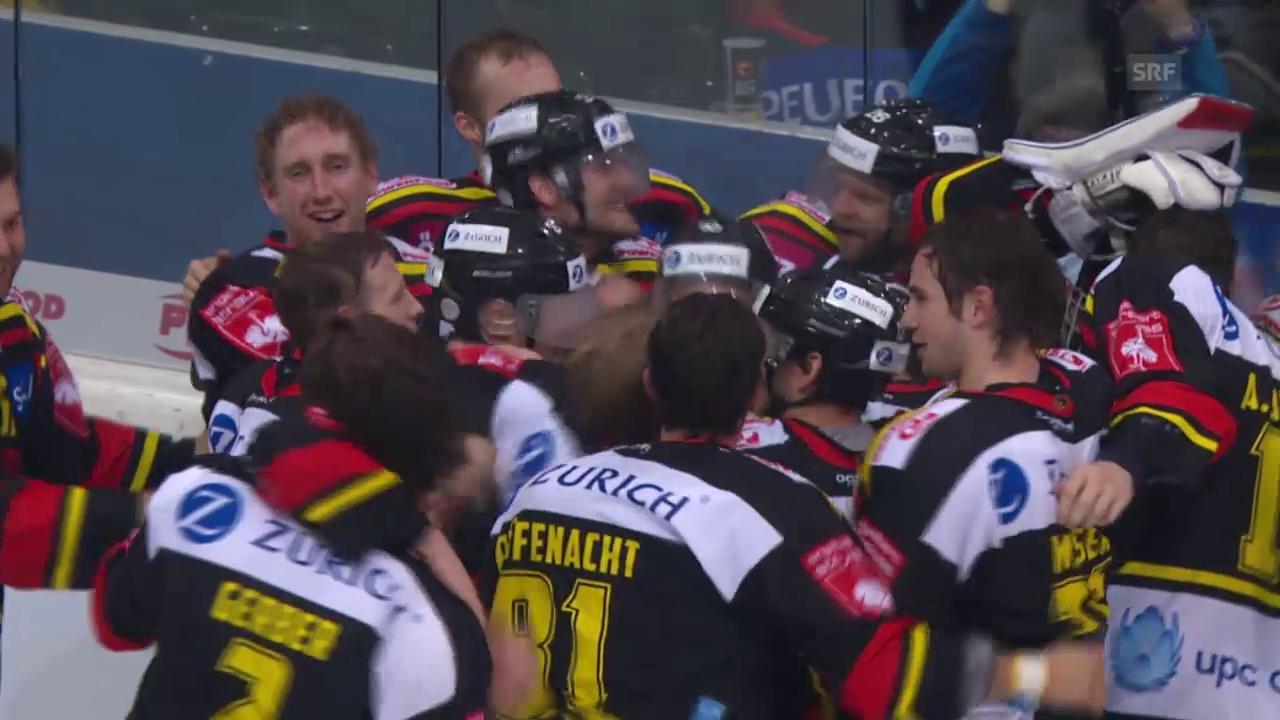 Eishockey: Die Tore des Cup-Finals SCB - Flyers