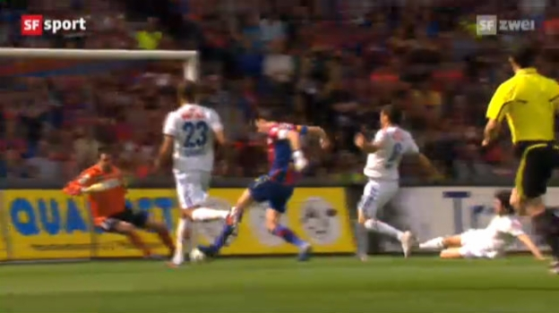 Video «SL: FC Basel ist Schweizer Meister 2012» abspielen