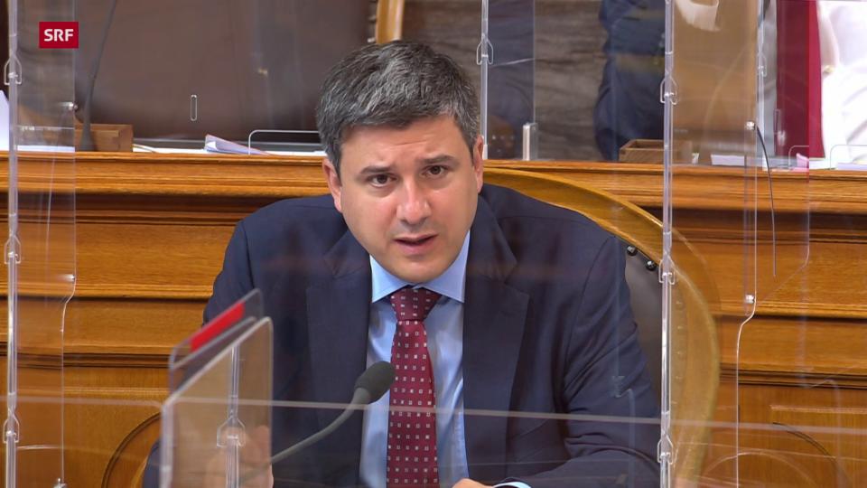 Mathias Zopfi (Grüne/GL): «Vorlage des Nationalrats ist untauglich»