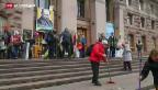 Video «Schweizer Botschafter vermittelt in Kiew» abspielen