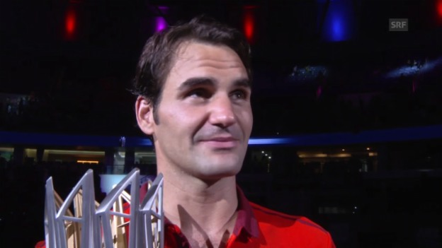 Video «Roger Federer im Interview» abspielen