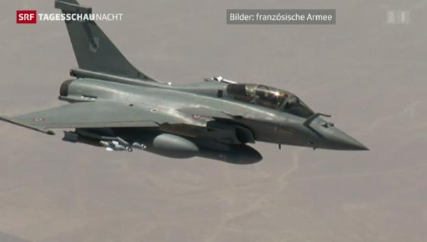Video «Frankreich bombardiert IS-Milizen» abspielen
