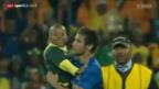 Video «Fussball: Neymar und der kleine Junge» abspielen