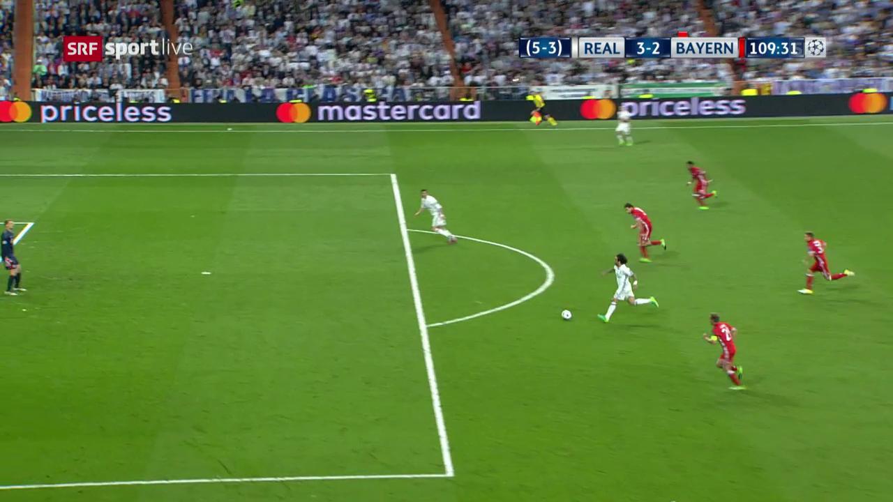 Ronaldo erzielt das 3:2