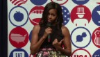 Video «Michelle Obama kämpft für gesunde Ernährung» abspielen