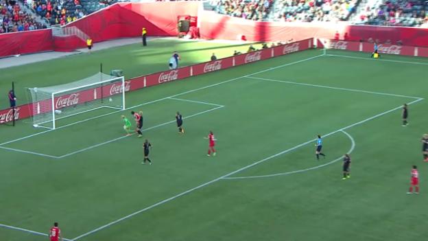 Video «Frauen-WM: Zusammenfassung China - Neuseeland» abspielen