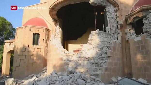 Video «Erdbeben auf Kos» abspielen