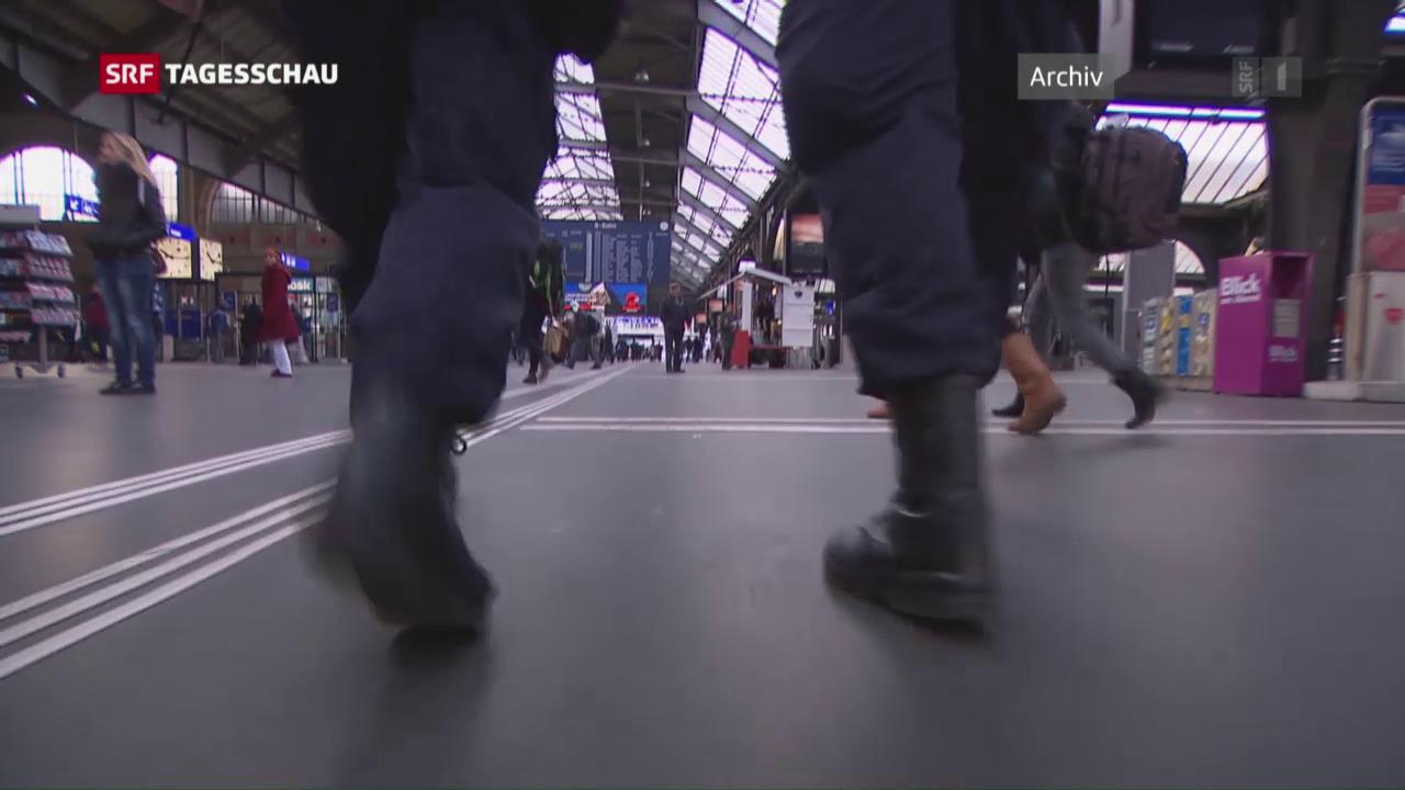 Dunkelhäutiger Mann zu Recht von Polizei kontrolliert