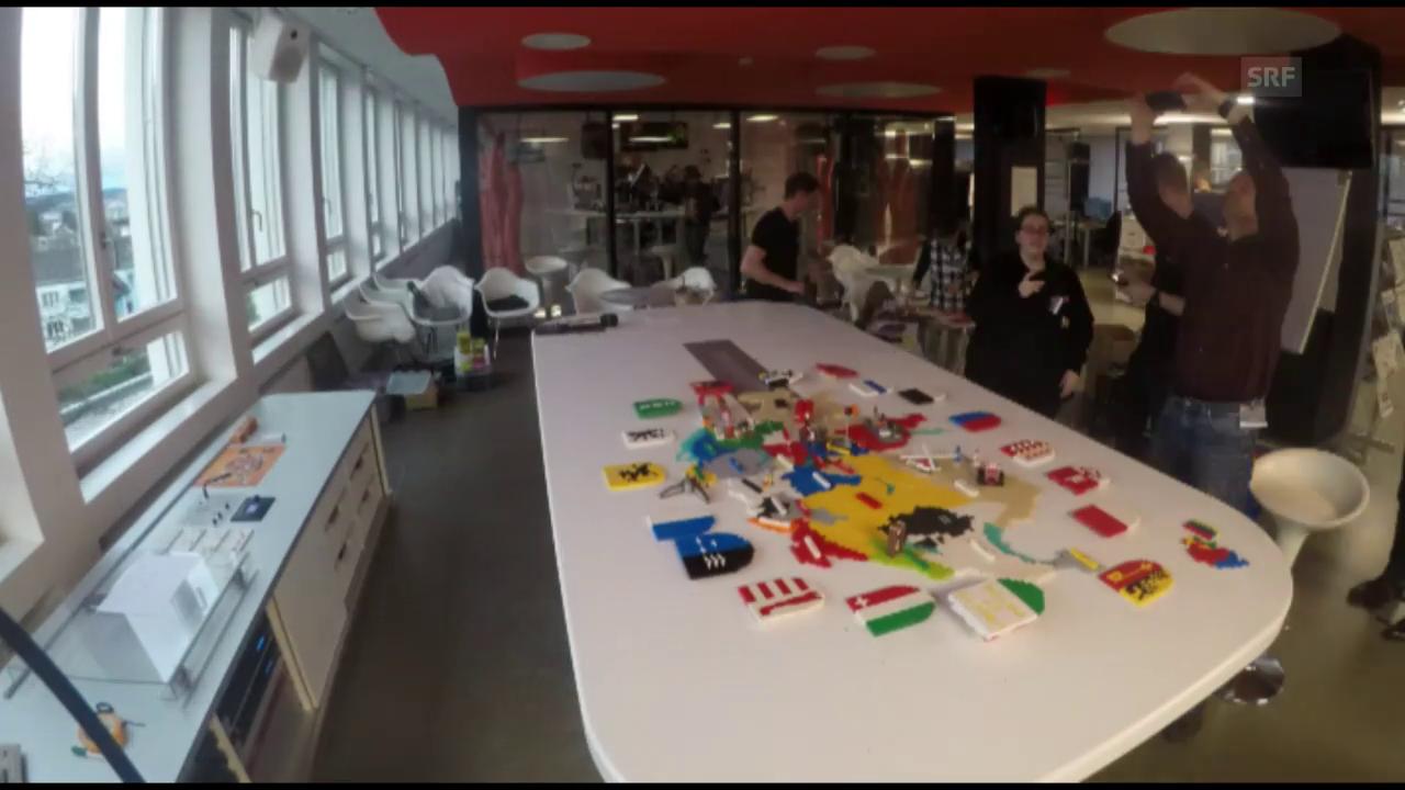 Wir bauen die Lego-Schweiz