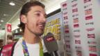 Video «Cancellara: «Habe mich durch das ganze Menü gefuttert»» abspielen