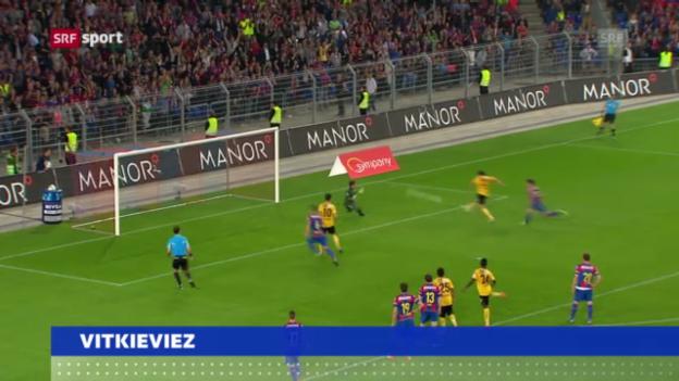Video «Vitkieviez wechselt zu St. Gallen» abspielen
