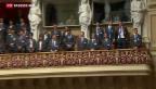 Video «Berufslehrlinge im Bundeshaus gefeiert» abspielen