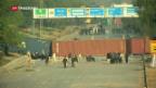 Video «Islamisten protestieren in Pakistan» abspielen