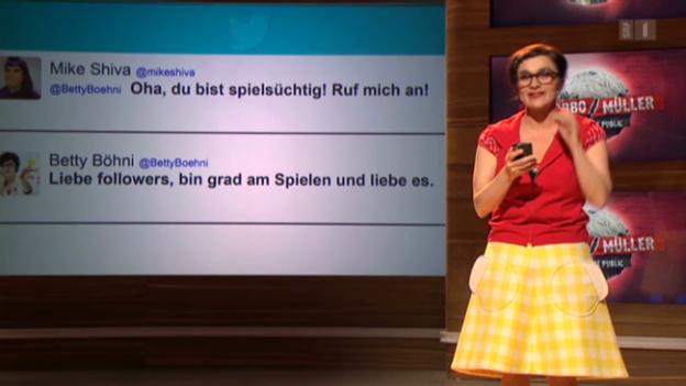Video «Auftritt Anet Corti: «Twitter»» abspielen