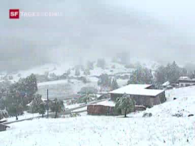Wintereinbruch an Pfingsten
