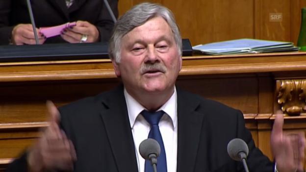 Video ««Wenn nichts anderes übrig bleibt, müssen diese Verträge angepasst werden.»» abspielen