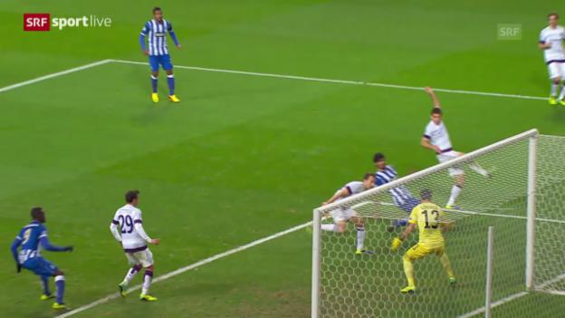 Video «Fussball: CL, Porto - Austria Wien («sportlive»)» abspielen