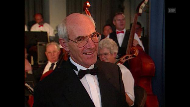 Video «Werner Strassmann erhält 1994 den «Goldenen Violinschlüssel»» abspielen