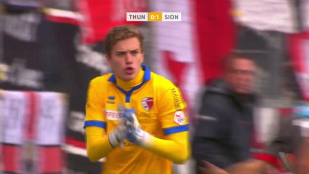 Video «Thun und Sion trennen sich 1:1» abspielen