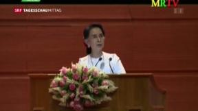 Video «Anfang eines langen Prozesses – Friedensverhandlungen in Myanmar» abspielen