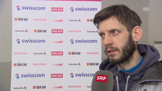 Video «Das sagt Trainer Ronny Hornschuh über Ammann» abspielen