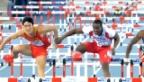 Video «LA-WM: Dayron Robles' Vergehen an Xiang Liu über 110 m Hürden» abspielen