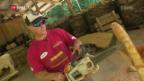 Video «Timbersports: Porträt von Stephan Hübscher» abspielen