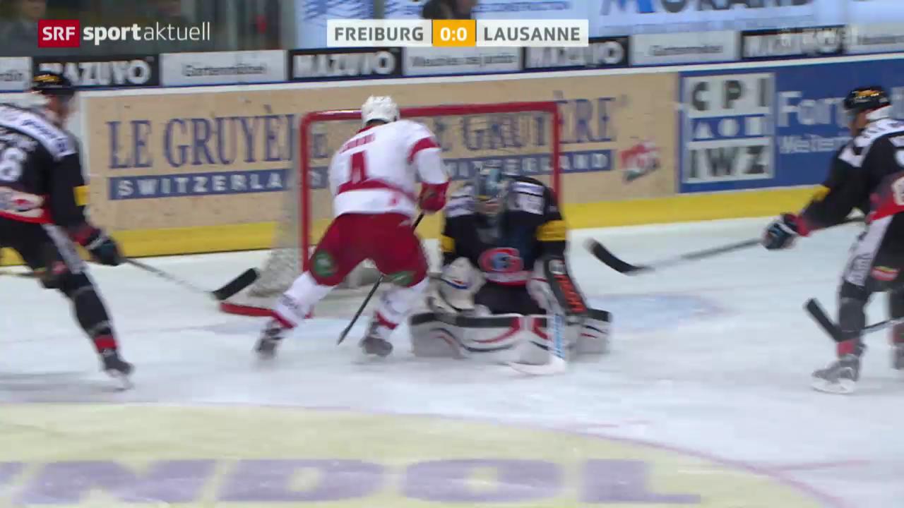 Eishockey: ZSC Lions - SC Bern / Freiburg - Lausanne