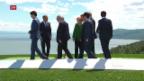 Video «G7-Gipfel geht zu Ende» abspielen