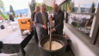 Video «Alain Berset: der Bundesrat am Risottotopf» abspielen