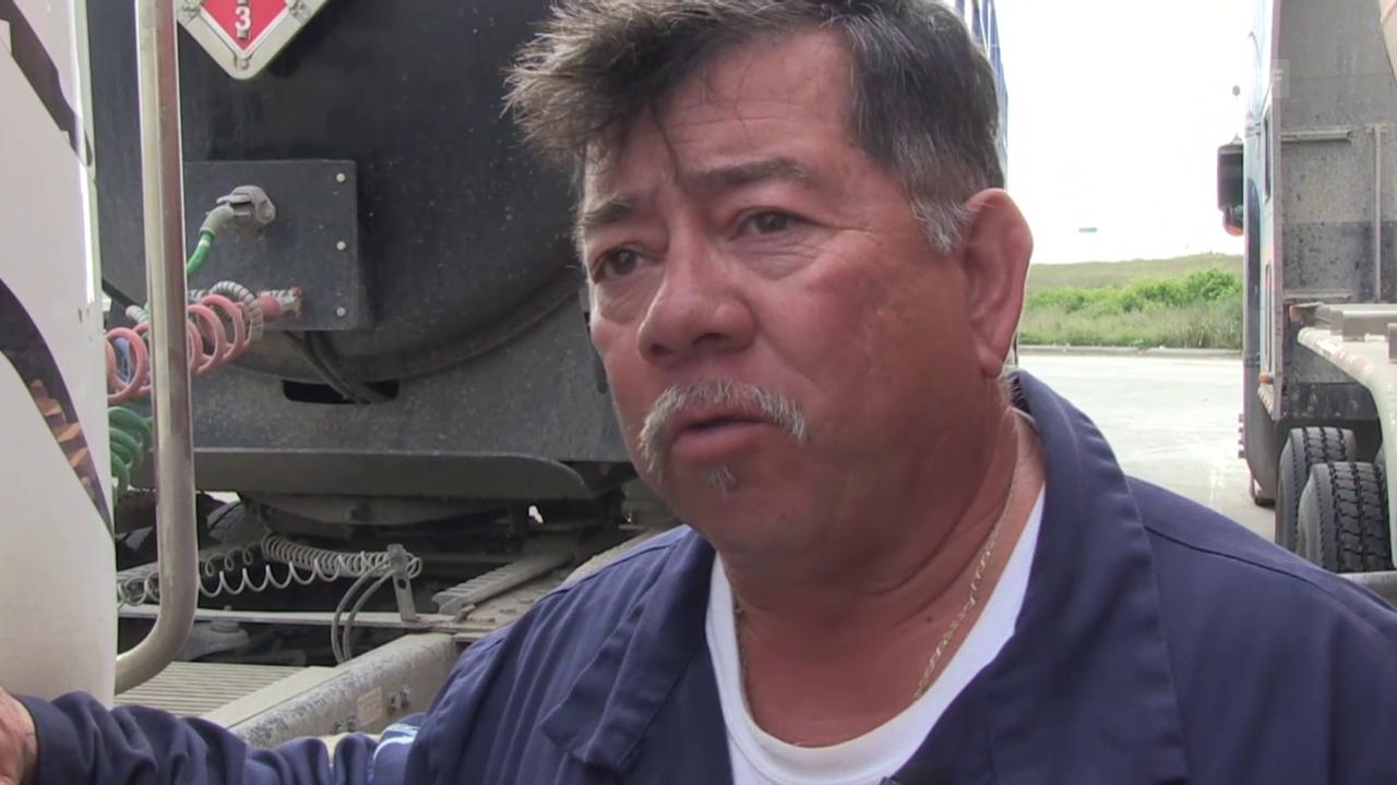 Texanische Öl-Arbeiter zittern um ihre Stelle
