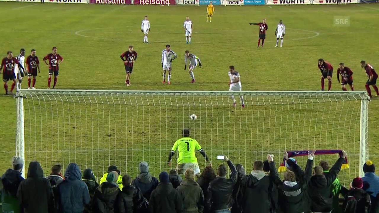 Fussball: Cup-Viertelfinal, Basel schlägt Münsingen