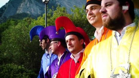 Video «Die Schlossnarren von Sargans» abspielen
