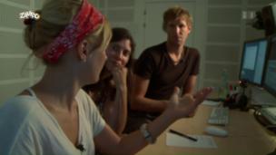 Video «Wie entsteht eine Rosanna checkt's Sendung?» abspielen