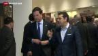 Video «Der griechische Balanceakt» abspielen