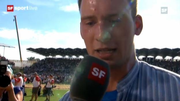 Video «Interview mit Kilian Wenger» abspielen