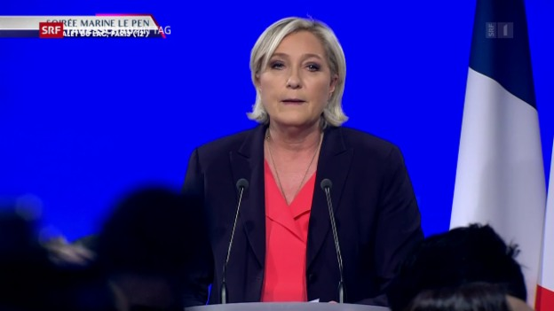 Video «Le Pen will Front National umbauen» abspielen