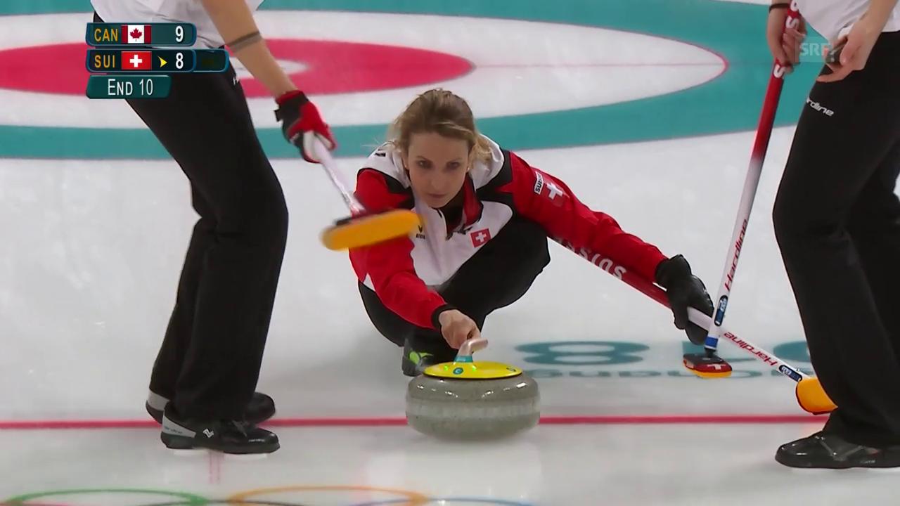 Schweizer Curlerinnen mit bitterer Niederlage