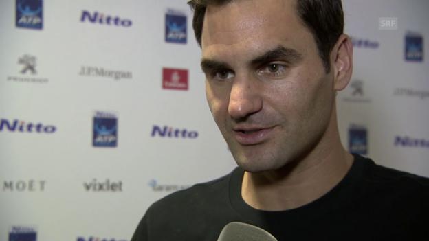Video «Federer: «Zverev ist eine Wundertüte»» abspielen