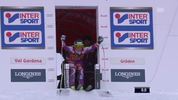 Video «Ski alpin: Super-G ini Gröden, Kjetil Jansrud» abspielen