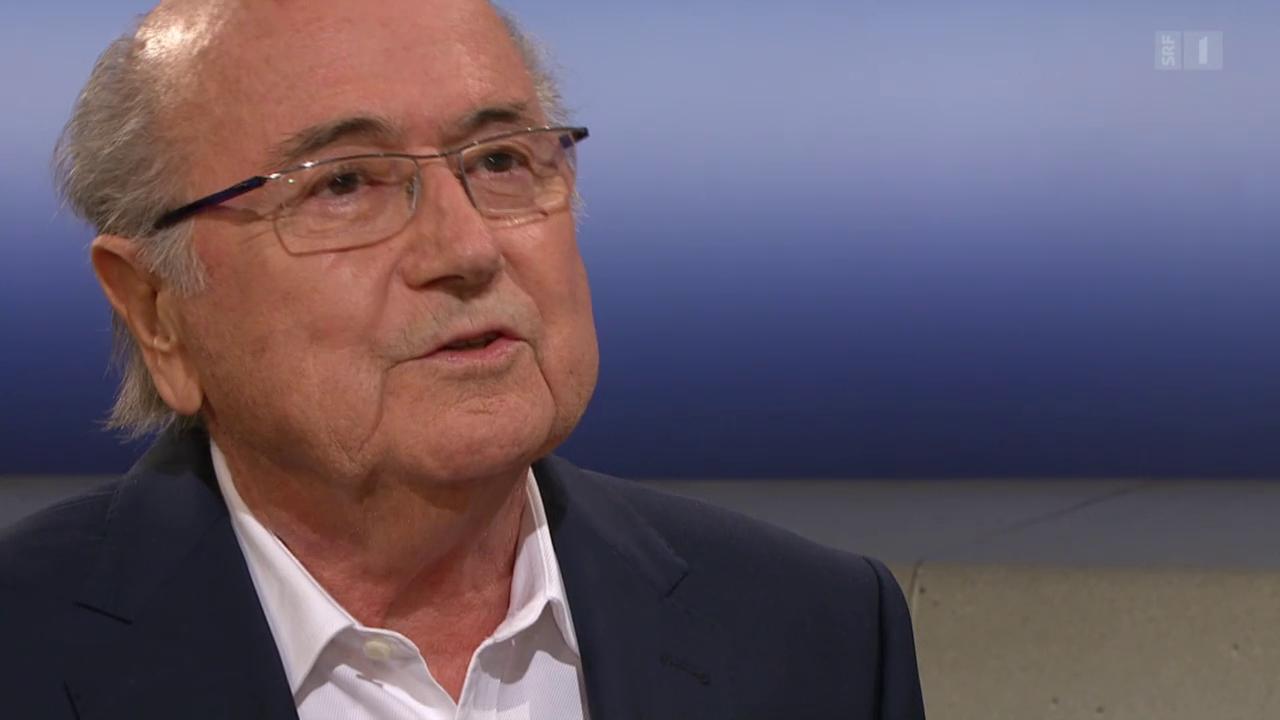 Blatter: «Ich habe sicher nichts Falsches getan»
